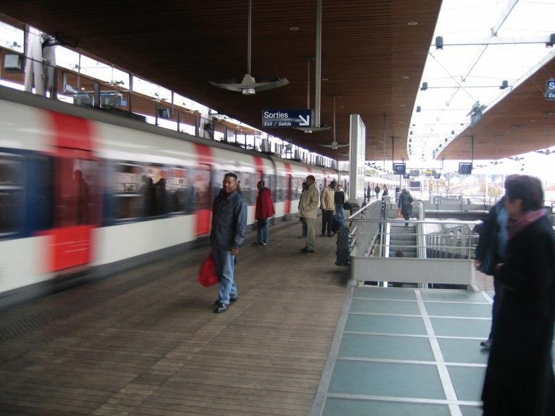 RER-B La-Plaine