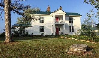 National Register of Historic Places listings in Anderson County, Kentucky - Image: RH Crossfield House