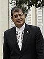 Rafael Correa in Paris, Palais du Luxembourg 01 (cropped).jpg