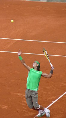 Rafael Nadal at the 2008 French Open 4.jpg
