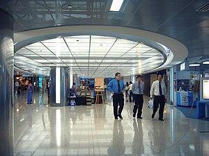 Raffles Place MRT Station - Raffles Xchange