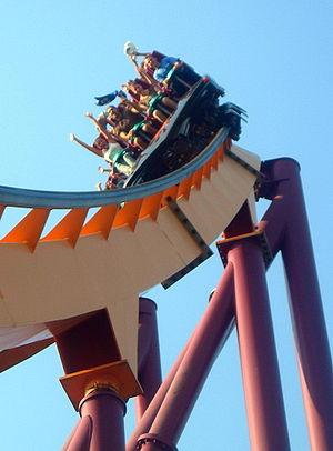 Six Flags Great America - Added in 1999, Raging Bull is still the park's tallest, fastest, and longest roller coaster.