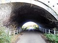Rail bridge on Wagg Drove, Huish Episcopi, Somerset 04.jpg