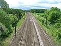 Railway line towards Doncaster - geograph.org.uk - 2413852.jpg