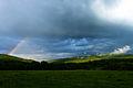 Rainbow in the Bieszczady Mountains.JPG