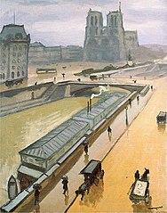 Rainy Day. Notre Dame de Paris