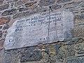 Rakovník, Pražská brána, latinský nápis.jpg