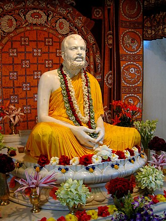 Ramakrishna - The marble statue of Ramakrishna at Belur Math, the headquarters of the Ramakrishna Mission
