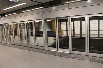 Toulouse Metro - A VAL208 at François-Verdier station.