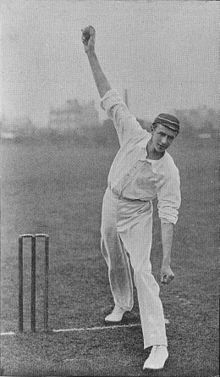 Ranji 1897 page 079 Townsend delivering the ball.jpg