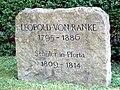 Ranke-Gedenkstein in Schulpforte.JPG