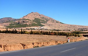 Aures, Algeria - Landscape of the Aurès in Ras el Aïoun
