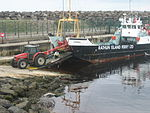Rathlin Island ferry at Ballycastle.jpg