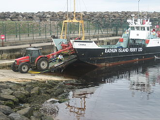 Ballycastle, County Antrim - Rathlin Island Ferry, Ballycastle Harbour