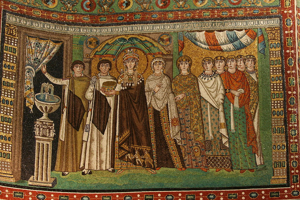 1024px Ravenna San Vitale Todora