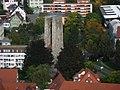 Ravensburg, Blick vom Mehlsack zum Schellenberger Turm.JPG