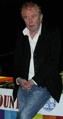 Ray Gosling at a meeting of Croydon Area Gay Society