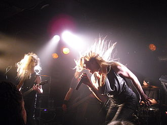 Floor Jansen - ReVamp performing live in Oslo in September 2010