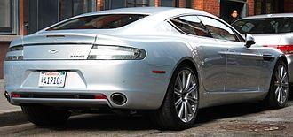 Aston Martin Rapide - Aston Martin Rapide fastback