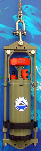 Device to record ocean currents