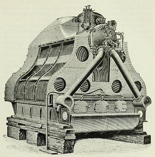 Reed water tube boiler