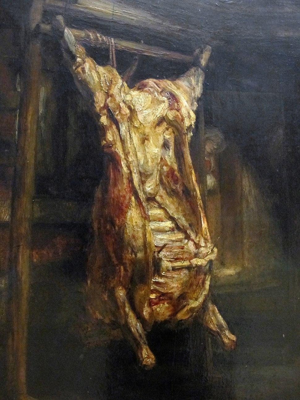 Rembrandt, bue squartato, 1655, 02