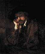 Rembrandt leaning on a Windowsill.jpg