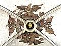 Renaissance-Fresken im Münster St. Johannes Bad Mergentheim. Engel um einen Schlussstein schwebend.jpg