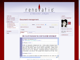 RenovatioCMS Document management tool