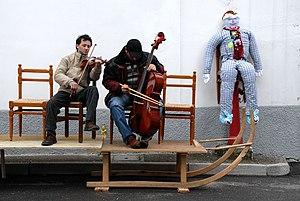 Resia, Friuli - The carnival in Resia.