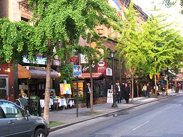 Restaurant Row (Manhattan) - Wikipedia, the free encyclopedia