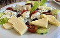 Restaurant Erotokritos (Almyrida) - plateau de fromages.jpg