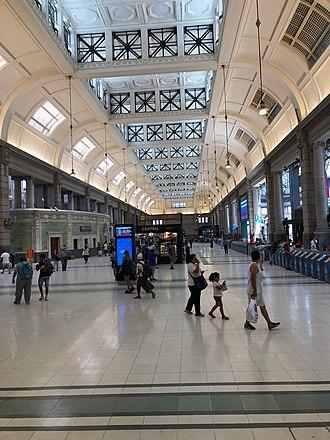 Retiro Mitre railway station - Image: Restored Retiro Station 1