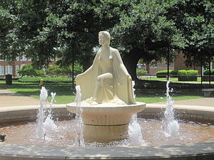Traditions of Louisiana Tech University - Lady of the Mist