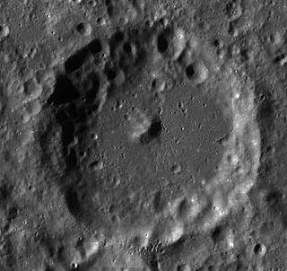 Rheita (crater) impact crater