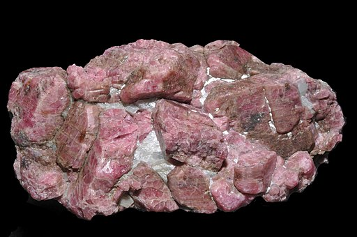 Rhodonite, calcite 300-4-6538