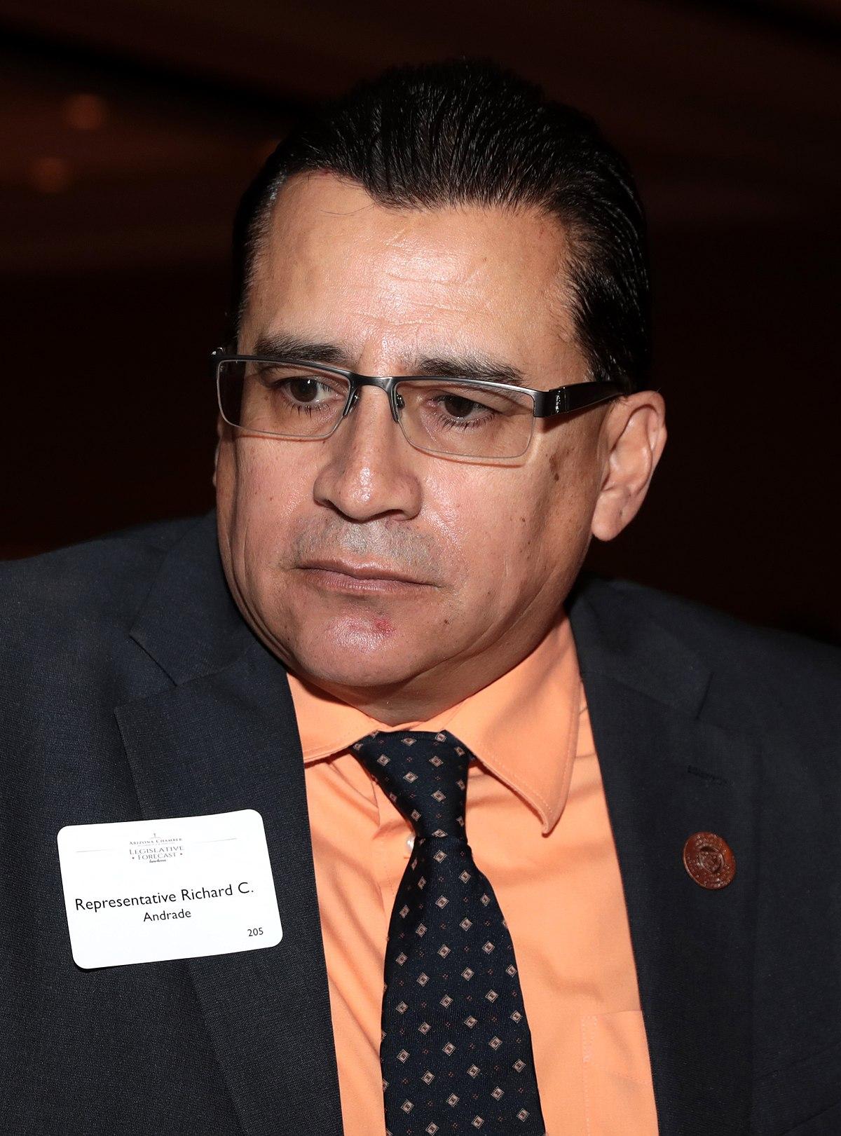 Arizona State Representatives >> Richard C. Andrade - Wikipedia