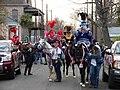 Riding Dukes Uptown Mardi Gras 2009.jpg