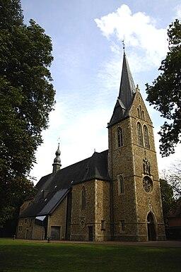 Lage-Rieste, Wallfahrtskirche