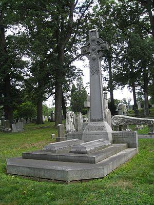 George Washington Riggs - Gravesite of George Washington Riggs