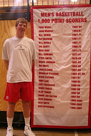 Rik Smits - Rik Smits visits Marist College on Alumni Day.