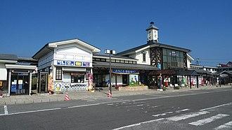 Rikuchū-Noda Station - Rikuchū-Noda Station in September 2012