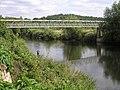 River Severn,Upper Arley footbridge.jpg