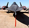 Riverside - SR-71A Blackbird at the March Field Air Museum.jpg