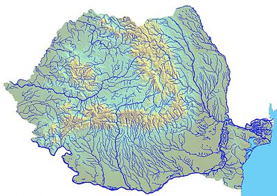 List of longest rivers of Romania - Wikipedia