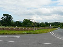 Road junction at Corby Hill - geograph.org.uk - 1403431.jpg