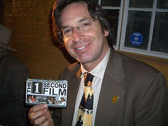 Robert Carradine - Carradine holding a producer credit for The 1 Second Film in October 2004