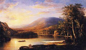 Robert S. Duncanson - Ellen's Isle, Loch Katrine, 1871