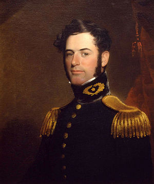Robert E. Lee - Lee at age 31 in 1838, as a Lieutenant of Engineers in the U.S. Army