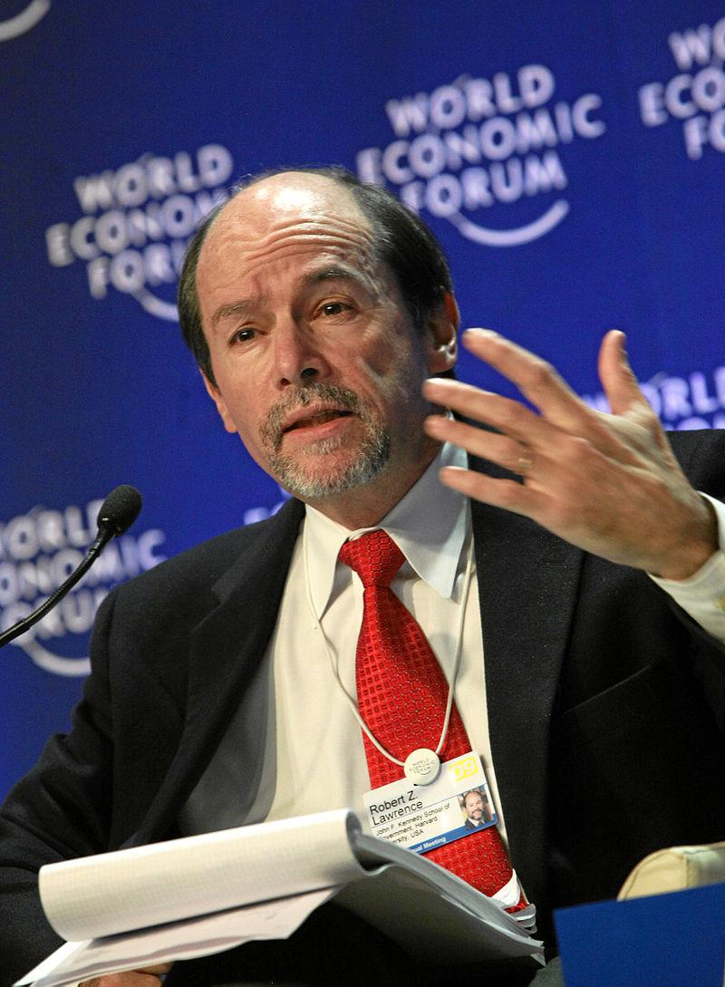 Robert Z. Lawrence - World Economic Forum Annual Meeting Davos 2009.jpg
